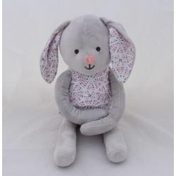OBAIBI bunny dress triangles pink gray 43 cm