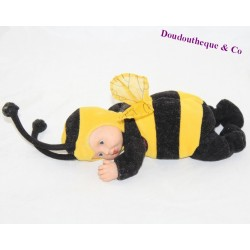 Baby bee doll ANNE GEDDES black yellow 20 cm