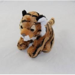 Small stuffed tiger WILD REPUBLIC brown black 12 cm