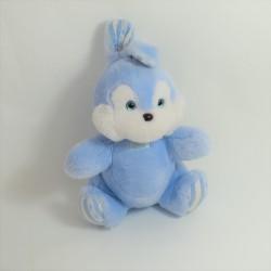 Plush Augustine rabbit sandwich and chocolate blue white 35 cm