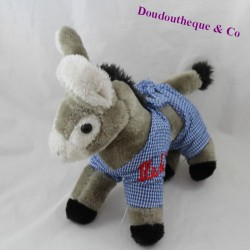 CEDATEC Donkey Island of re blue scarf knotted grey 25 cm
