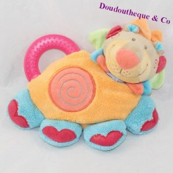 Doudou Lion NATTOU collection Oasis bell teething ring 22 cm
