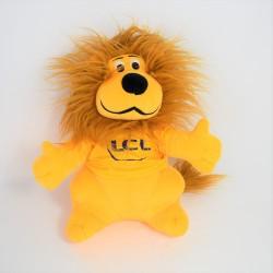 Peluche Lion LCL Tour De France Mascot Le Crédit Lyonnais 30 Cm