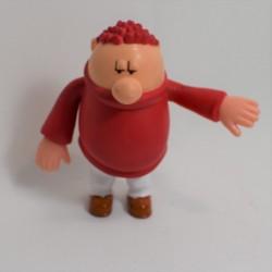 Figurine Hugo LANSAY ami de Titeuf pull rouge 11 cm