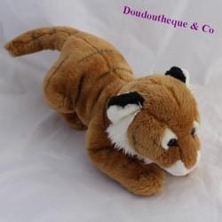 ANIMAL ALLEY white brown tiger cub 40 cm