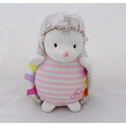 Towel hedgehog LUMINOU JEMINI Phosphorescent pink 22 cm