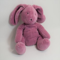 Doudou rabbit DPAM purple purple Du Pareil to same plush 24 cm