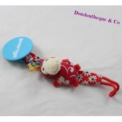 Bogos deGLINGOS monkey nipple attaches red lollipop 20 cm