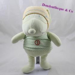 Dog towel TAPE A OEIL Tao green aviator 30 cm