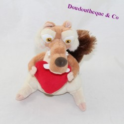 Squirrel towel Scrat GIPSY Ice Age with a heart 16 cm