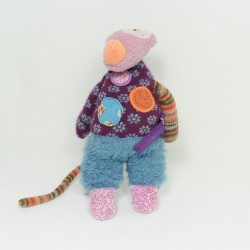 Don Wolf MOULIN ROTY the pretty not beautiful violet blue 22 cm
