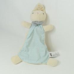 Doudou rabbit flat H & M scarf blue 34 cm