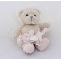 BuKOWSKI bear tutu pink tulle cub beige 18 cm