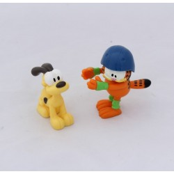 Figure Garfield QUICK cat Garfield and dog Odie in pvc
