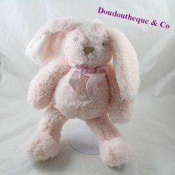 ATMOSPHERA pink rabbit knot at neck 34 cm