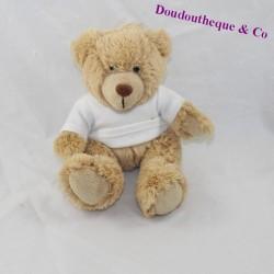 NEMERY Bear Bear ' CALMEJANE White Ardèche T-Shirt Sitting 14 cm
