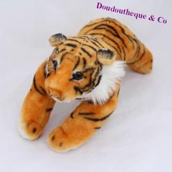 Classic black striped brown tiger cub 28 cm