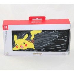 Nintendo Switch Pokemon Black Pikachu System Transport Case