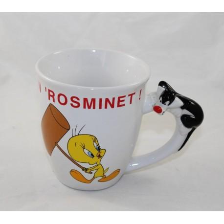 Mug Titi and Grosminet AVENUE OF THE STARS Looney Tunes Warner Bros
