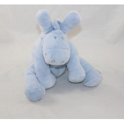 Donkey Paco NOUKIE'S sky blue seated 20 cm