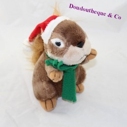 Eichhörnchen junge AFIBEL Hut Schal Noel 19 cm