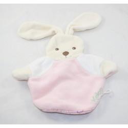 Doudou puppet rabbit KALOO Lilirose glove sponge pink