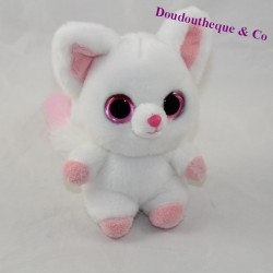 Y28OOO white fox pink big eyes 16 cm