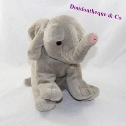 Grey GIPSY elephant cub sitting 24 cm