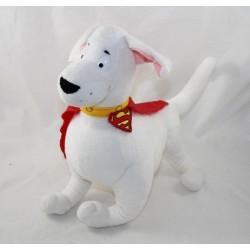 Peluche super chien Krypto NOUNOURS the superdog DC COMICS Superman 35 cm