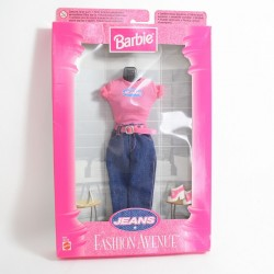 Barbie MATTEL Fashion Fantasy doll clothes top + John