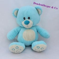 ZOODOO white blue bear cub 30 cm