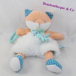 BABY NAT' Blue White Doll 27 cm