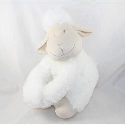 Sheep but white beige arm scratch 36 cm