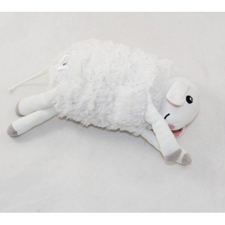 IKEA Leka lamb white velvet cloth musical toss 20 cm