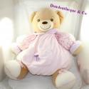Big teddy bear XL bear KALOO Giant Lilirose pink sitting 50 cm