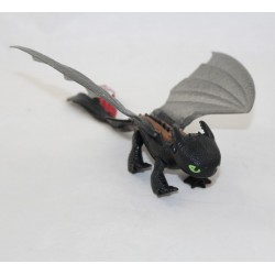 Krokmou DREAMWORKS Black Dragon Transparent Wing Figure 20 cm