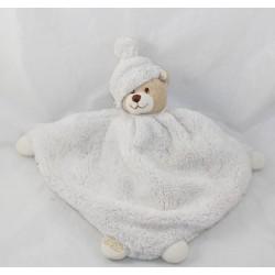 Flat Teddy bear beige BUKOWSKI rose 28 cm