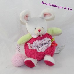 Doudou rabbit nightlight DOUDOU AND LOVEly COMPAgny strawberry 21 cm