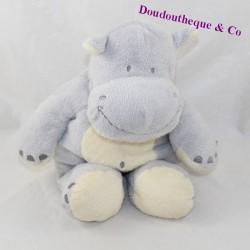 NICOTOY blue grey hippopotamus 28 cm