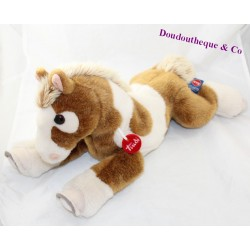 TRUDI white brown horse collar red 45 cm
