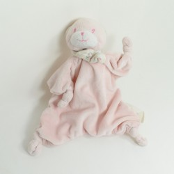 Bear flat Doudou KIMBALOO rose knot small Kimbaloo
