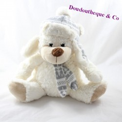South bear bear and EXE scarf and grey cap 26 cm