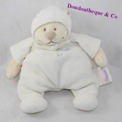Bear bear TEDDY BEAR NOUKIE'S Tonton pyjamas beige hood bell 25 cm