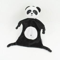 Doudou flat panda JJ VCE black white 23 cm