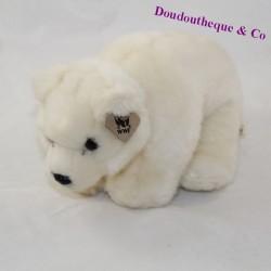 Polar bear cub ANNA CLUB PLUSH WHITE WWF 22 cm