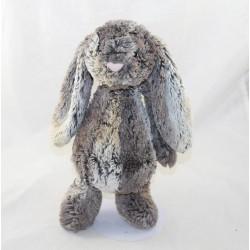JELLYCAT Bashful Cottontail grey brown rabbit 27 cm