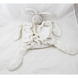 Doudou flat rabbit KALOO white feather Soft -soft creations
