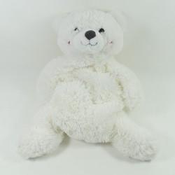 Teddy bear ETAM range Pajamas-doudou-hot water bottle Princess polar bear 48 cm