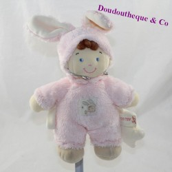 Leprechaun cub disguised as a rabbit NICOTOY pink bell 22 cm