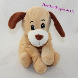 D LOVE D'AMOUR dog Mgm beige brown sitting 20 cm